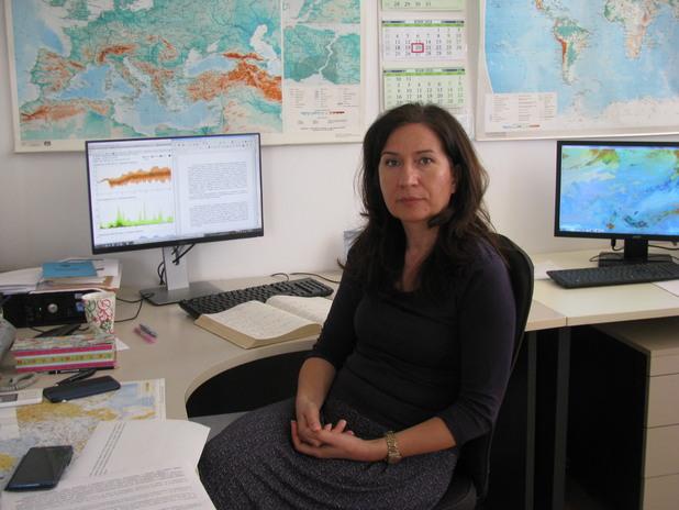 Анастасия Стойчева, синоптик в НИМХ