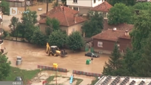Наводнение в град Роман