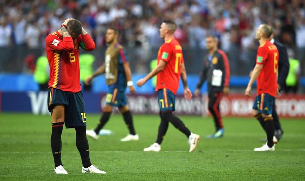 Испания - Русия