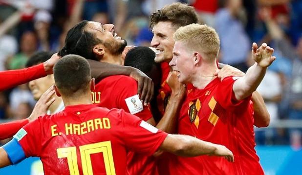 Белгия - Япония 3:2