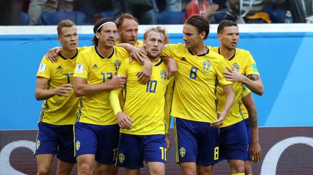 Швеция - Швейцария 1:0