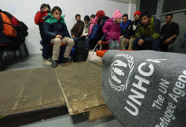 Деца бежанци в Дания