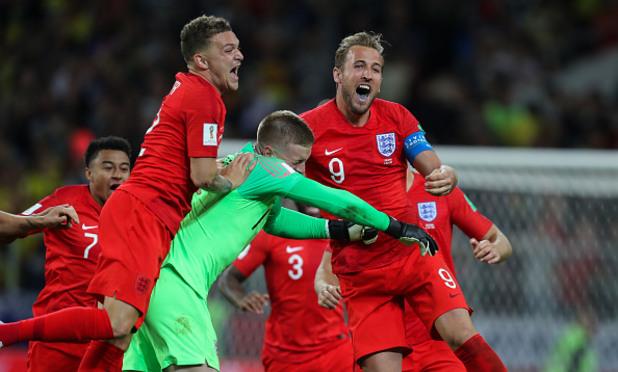 Англия - Колумбия