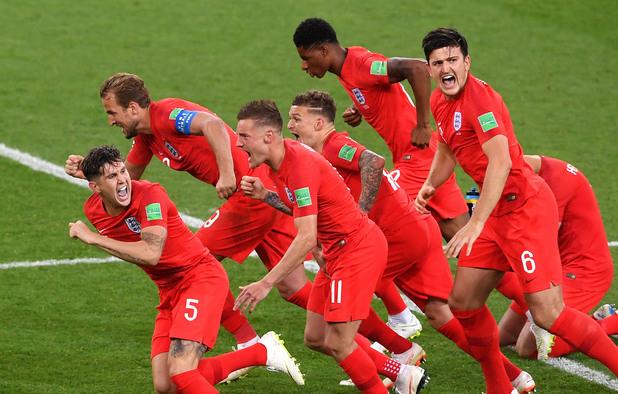Колумбия - Англия 1:1