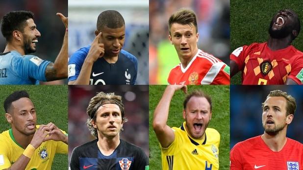 Мондиал 2018, четвъртфинали