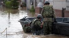 Наводнение в Япония