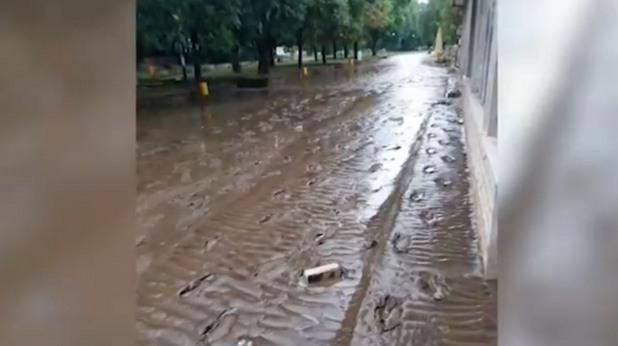 Наводнение в Мизия