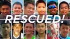 Спасените момчета от пещерата в Тайланд