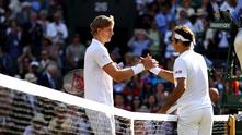 андерсън и федерер