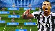Схеми на Юве с Роналдо