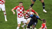 Франция - Хърватия 4:2