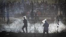Протест в Газа