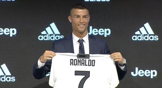 Представяне на Роналдо в Ювентус