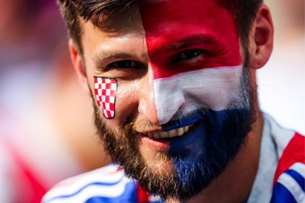 мондиал 2018,русия 2018,световно първенство,фенове, финал, хърватия, франция 15
