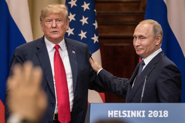 Путин и Тръмп