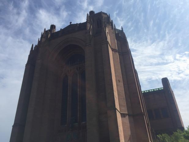 катедралата на ливърпул