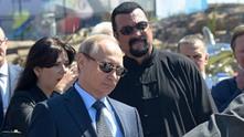 Владимир Путин и Стивън Сегал