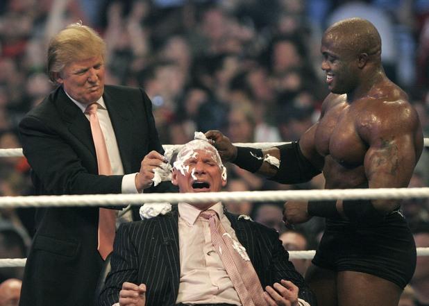 Доналд Тръмп в WWE