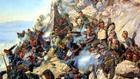 "Защитата на ""Орлово гнездо"" от руския художник Алексей Попов"