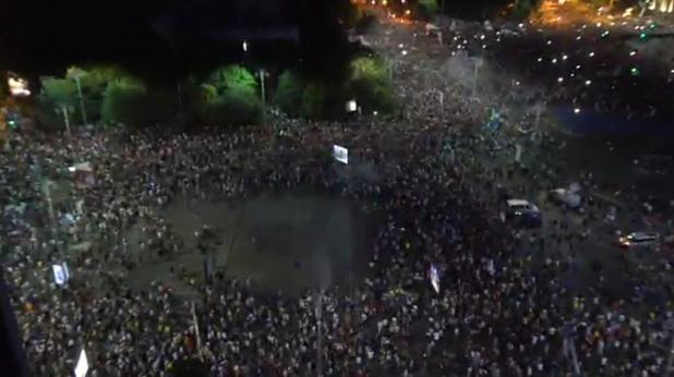 Протест в Букурещ