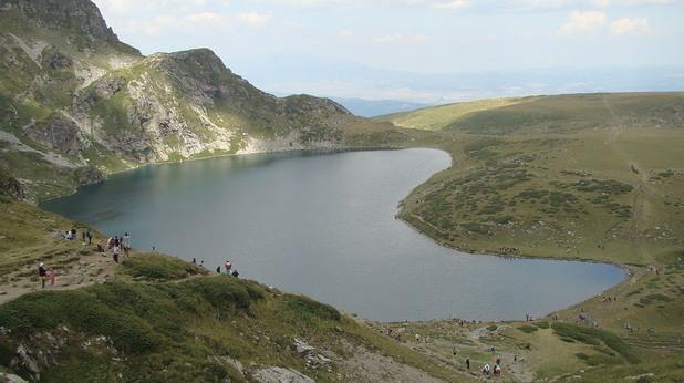 Езерото Бъбрека в Рила