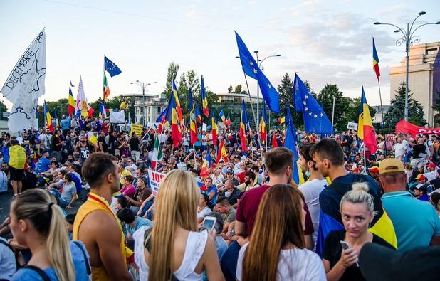 Протести в Букурещ
