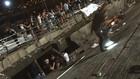 Срутена платформа на фестивал в Испания