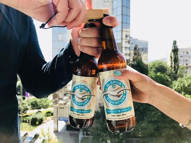 glarus, бира glarus, крафт бира glarus, glarus кайсия и мед