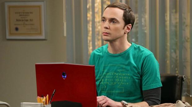 Джим Парсънс като Шелдън в The Big Bang Theory
