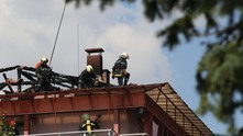 пожар в студентски град