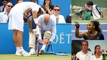 Тенис наказания