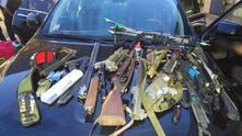 Заловени оръжия