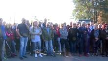 Работници на протест