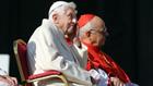 папа франциск, папа бенедикт