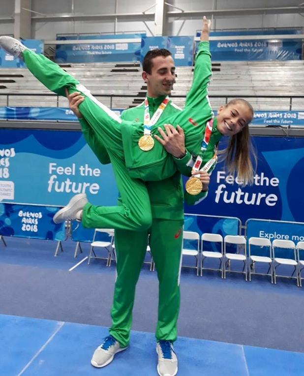 Мариела Костадинова и Панайот Димитров