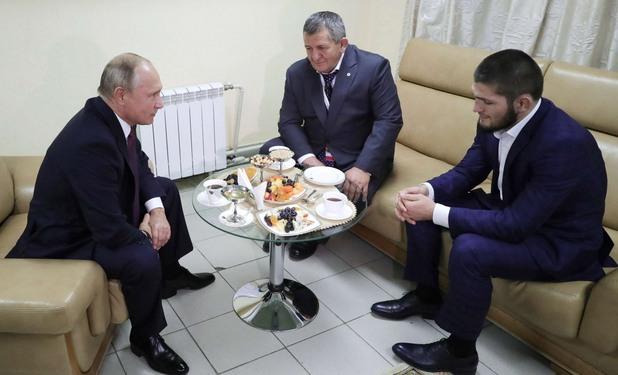 Хабиб и Путин