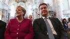 Ангела Меркел и Маркус Зьодер