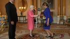 Десислава Радева при кралицата