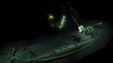 останки от кораб в черно море