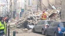 Срутени сгради в Марсилия