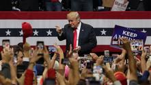 Митинг на Доналд Тръмп