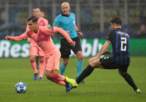 Интер - Барселона 1:1