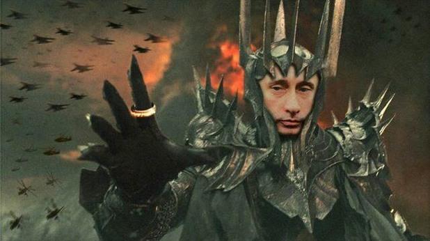 Саурон Путин