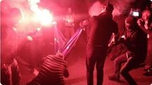 Полски крайнодесни горят флага на ЕС