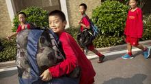 Момчета в Китай