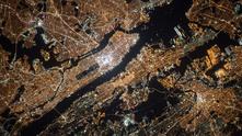 сателитна карта
