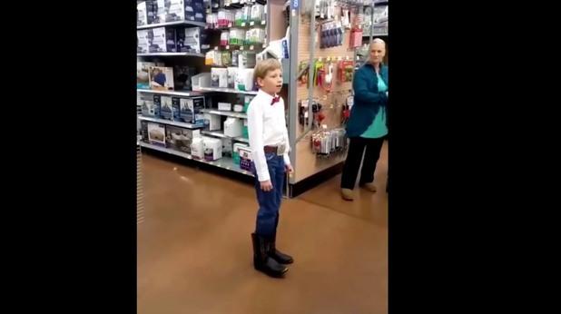 "Mason Ramsey -  ""Walmart Yodeling Kid"""