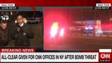 Сигнал за бомба в CNN