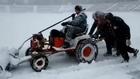 Българска армия, сняг