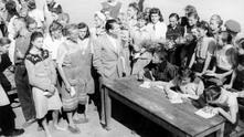 Германски жени преди освобождаването им от лагер в СССР (1947 г.)
